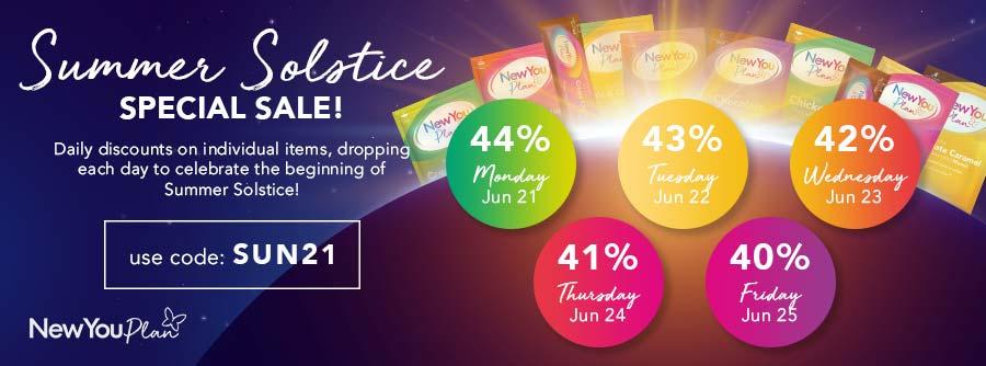 Summer Solstice Special Sale SUN21 Discount Code