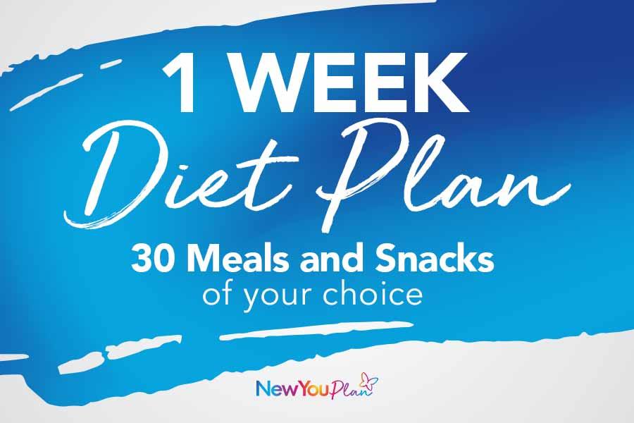 1 Week Diet Plan Bundle