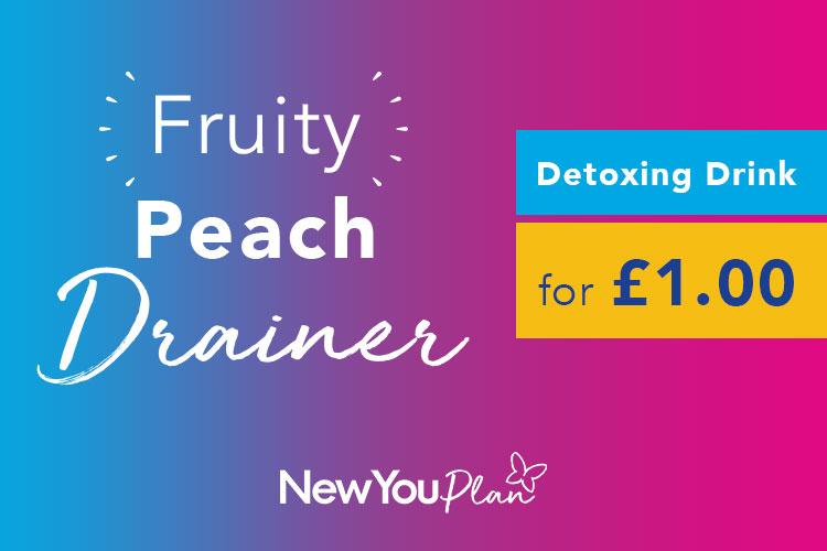 10 Peach Drainers (NEW RECIPE)