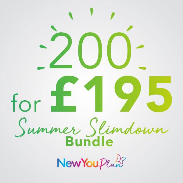 Slim Down For Summer Bundle 200 FOR 195
