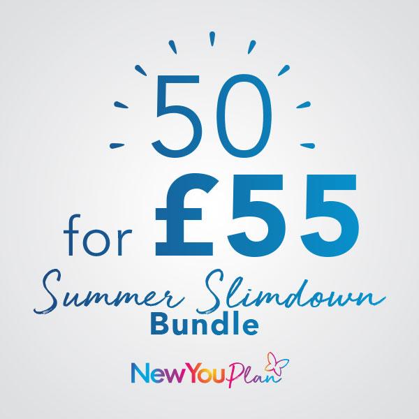 Slimdown for Summer Bundle 50 FOR £55
