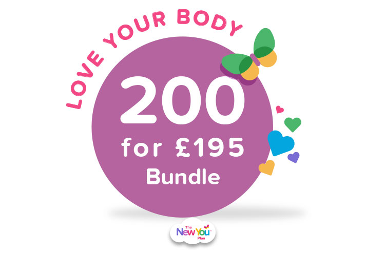 LOVE YOUR BODY 200 FOR 195