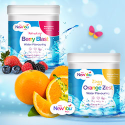 50% Off Water Flavorings