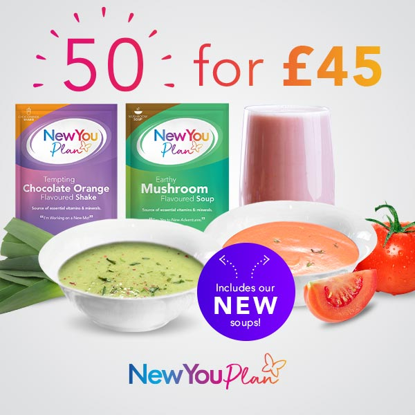 50 Shakes and Soups for £45