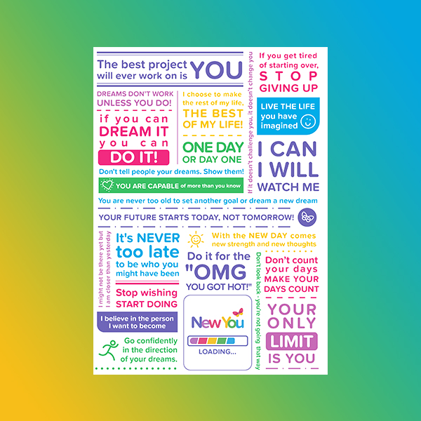 New You Manifesto Card