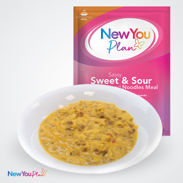Oh So Saucy Sweet & Sour Noodles TFR VLCD Meal