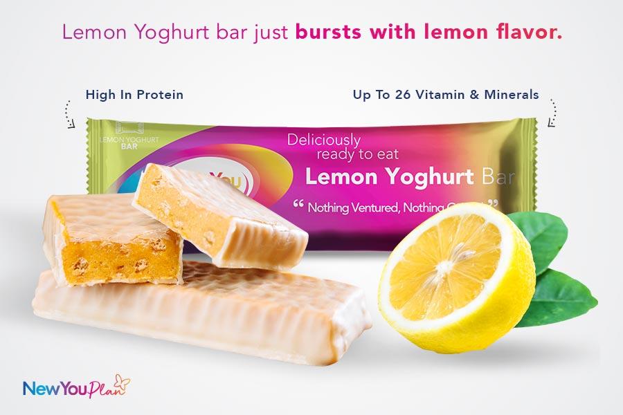 Zesty Lemon Yoghurt Total Bar