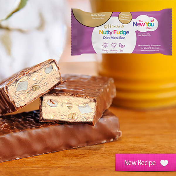 NEW RECIPE Ultimate Nutty Fudge TFR VLCD Bar