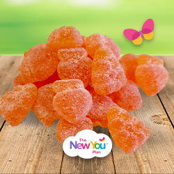 Zesty Orange High Protein Gummy Sweets