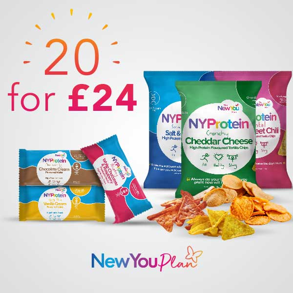 20 Snacks for £24