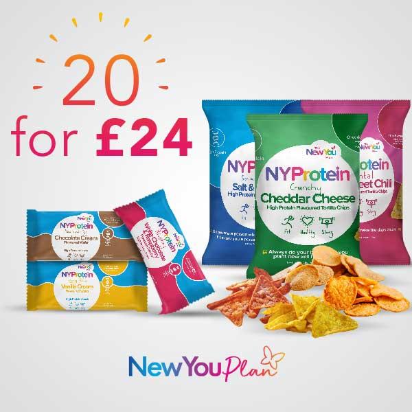 20 Snacks for £24