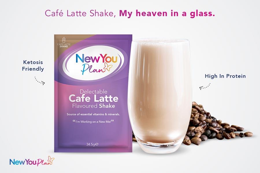 Cafe Latte Total Shake