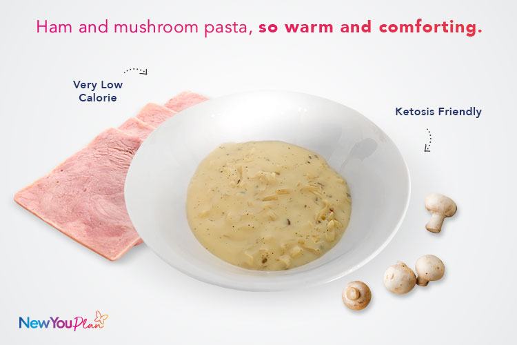 Ham & Mushroom Pasta TFR VLCD Meal Limited Edition