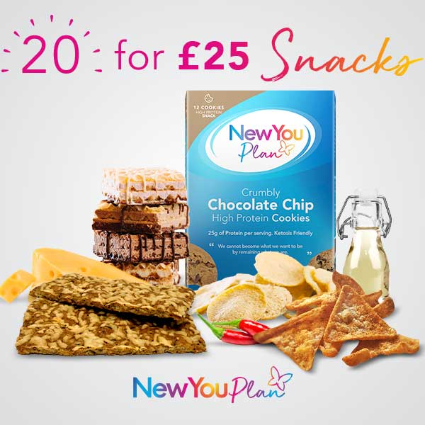 20 Snacks for £25