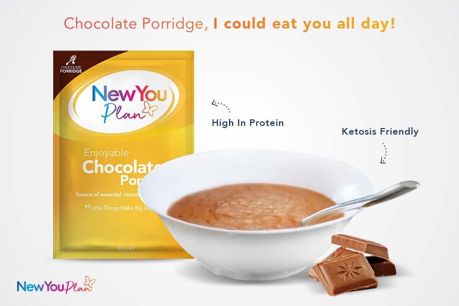Chocolate TFR VLCD Porridge
