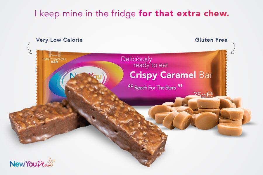 New Crispy Caramel TFR VLCD Bar