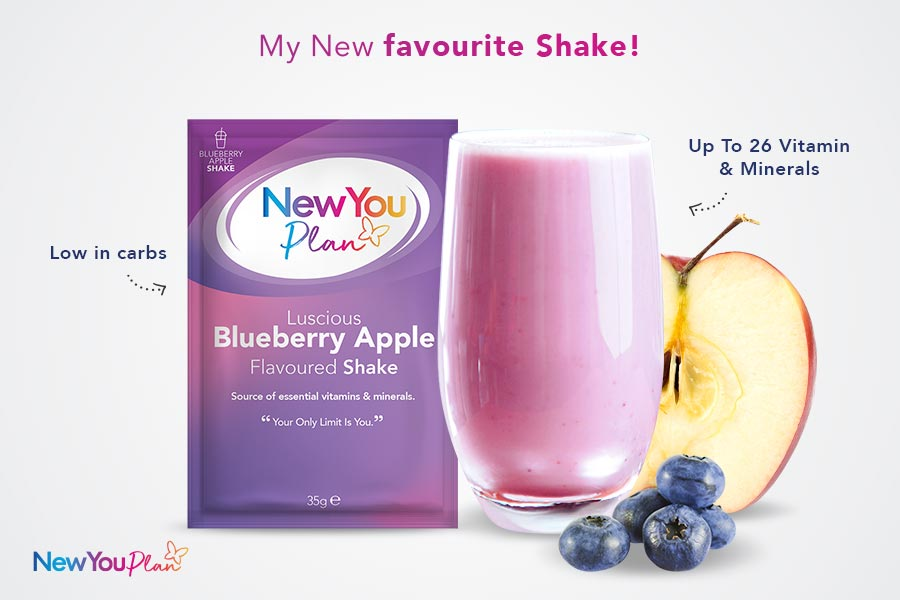 Blueberry Apple TFR VLCD Shake