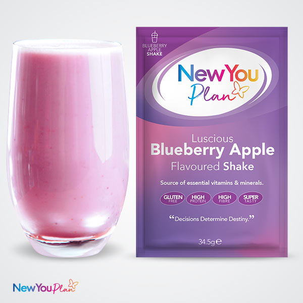 Blueberry Apple TFR VLCD Shake (New!)