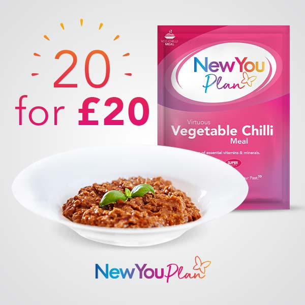 20 Vegetable Chili for £20