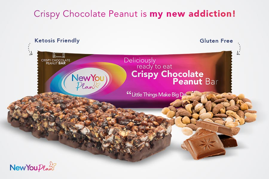 Crispy Chocolate Peanut TFR VLCD Bar
