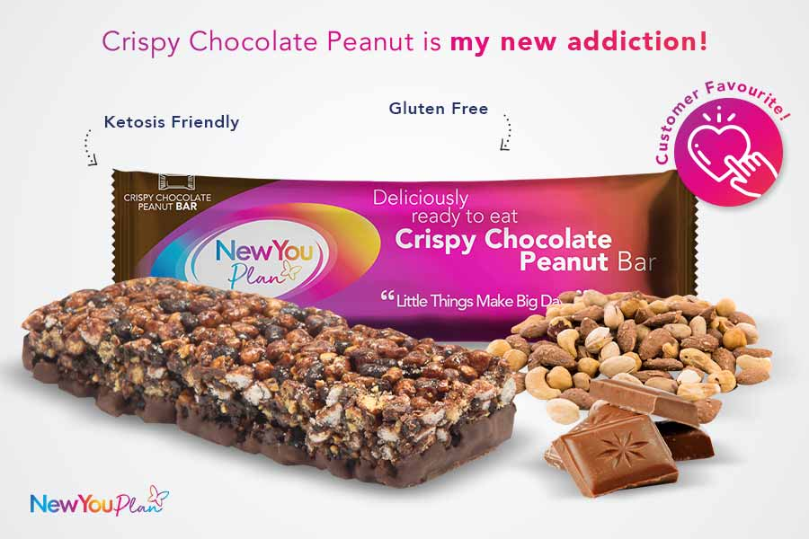 Crispy Chocolate Peanut TFR VLCD Bar