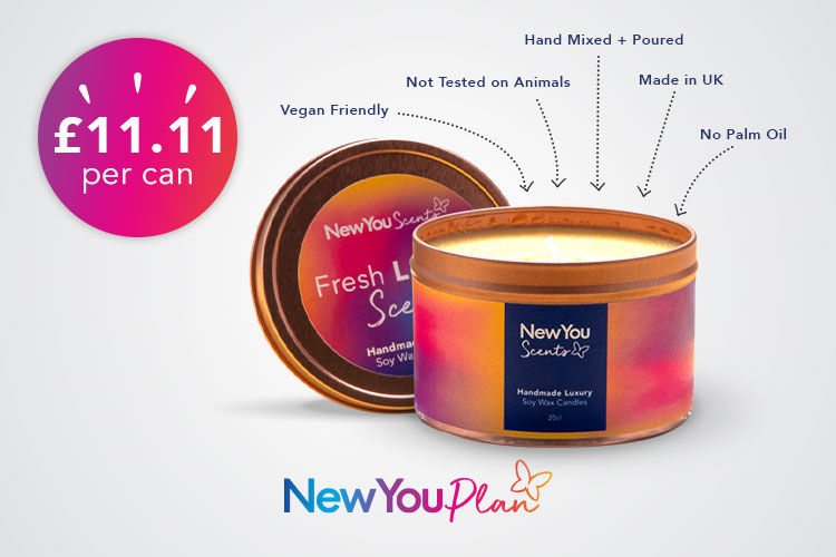 New You Scents Lemon Candle