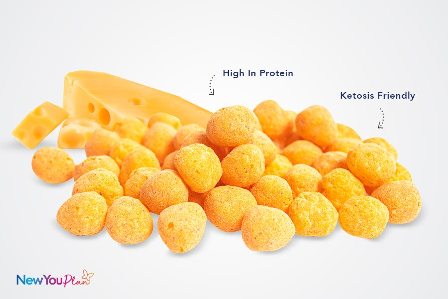 (NEW) High Protein Cheese Flavoured Snack Balls