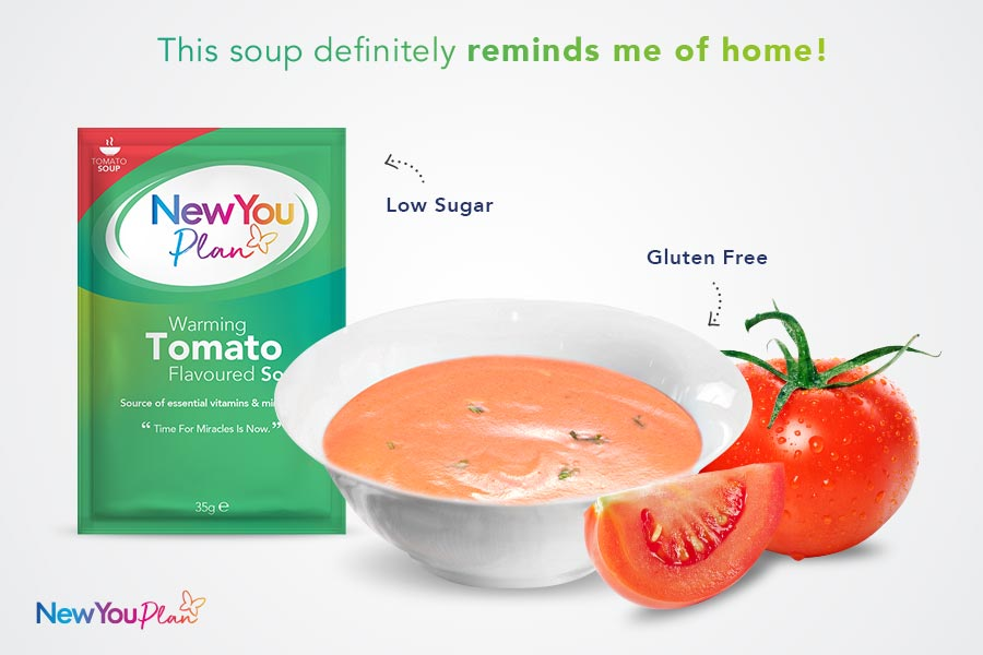 Tomato TFR VLCD Soup