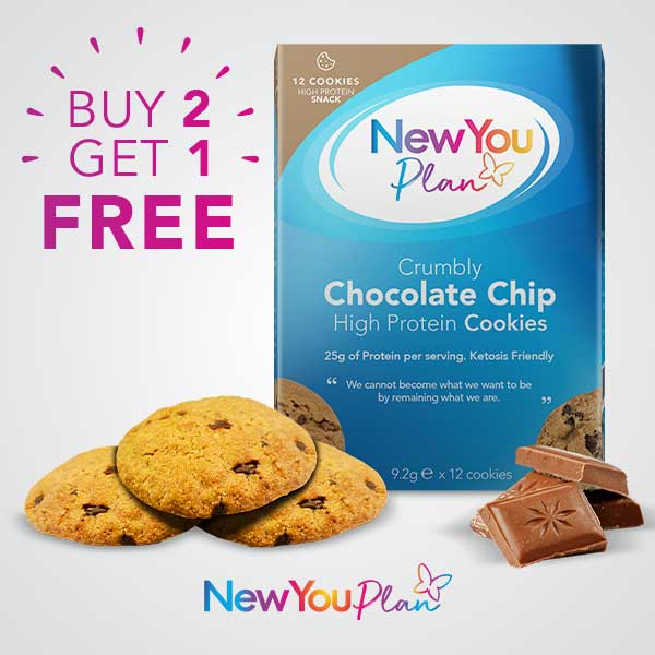 Buy 2 Get 1 Free Chocolate Chip Cookies