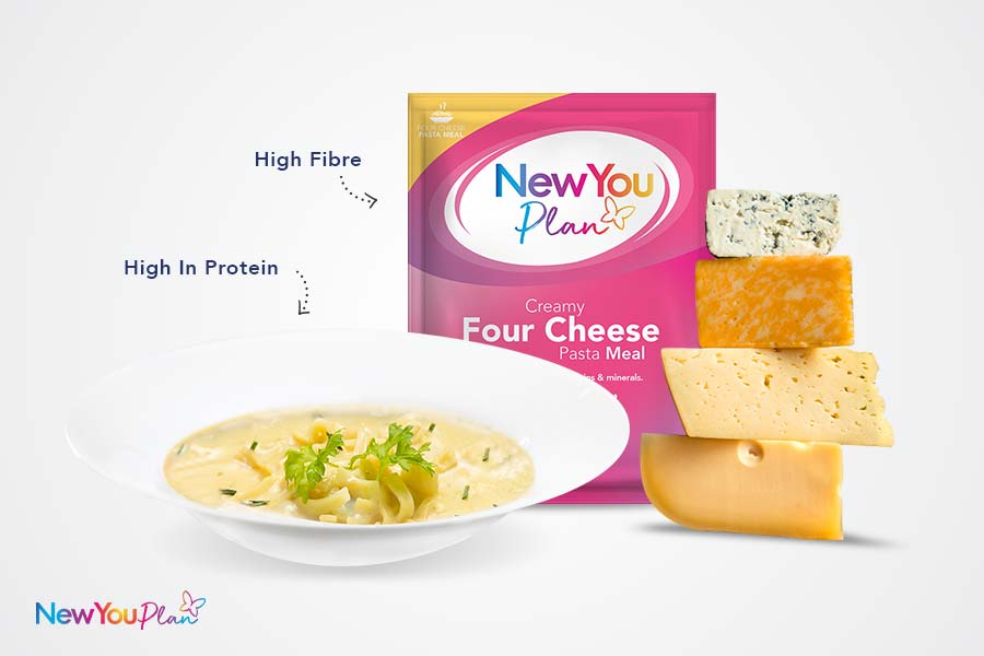 (NEW) Four Cheese TFR VLCD Pasta