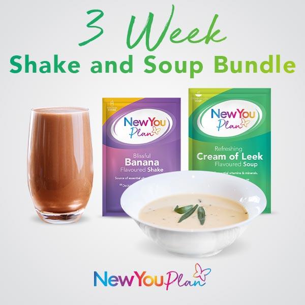 3 Week Shakes and Soups Bundle
