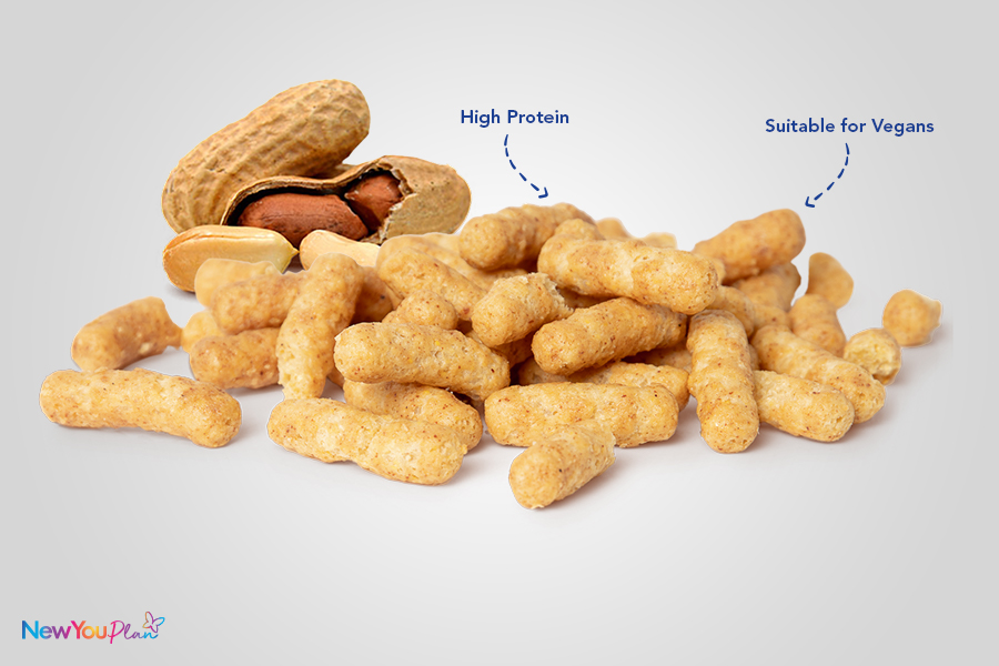 (NEW) Crunchy Peanut Butter High Protein Puffs