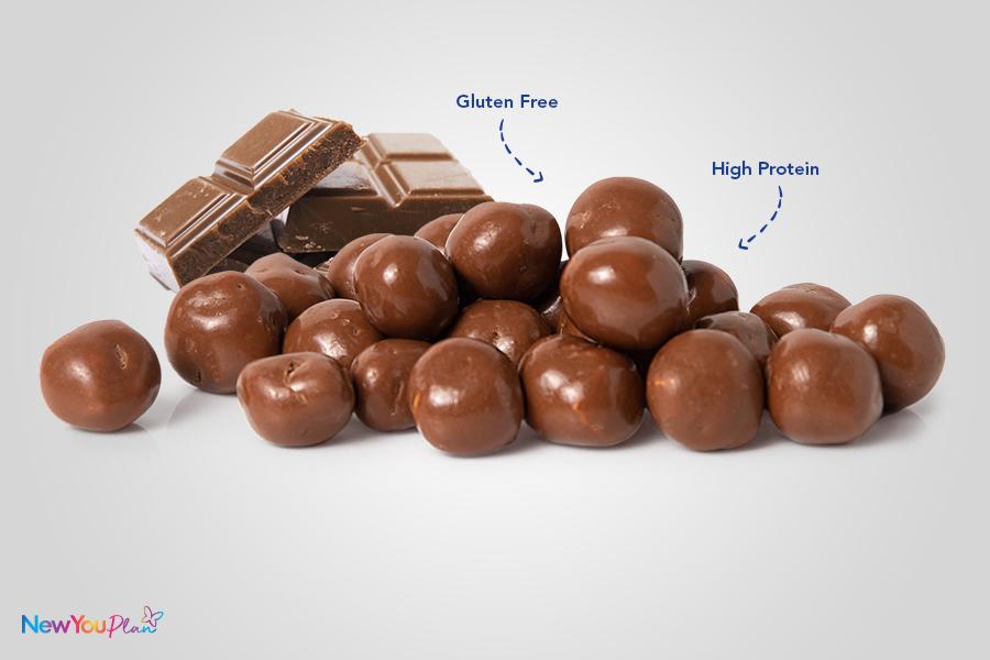 (NEW) Crispy Milk Chocolate High Protein Balls