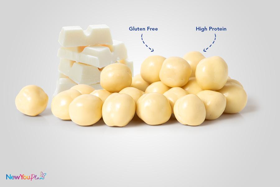 (NEW) Crispy White Chocolate High Protein Balls