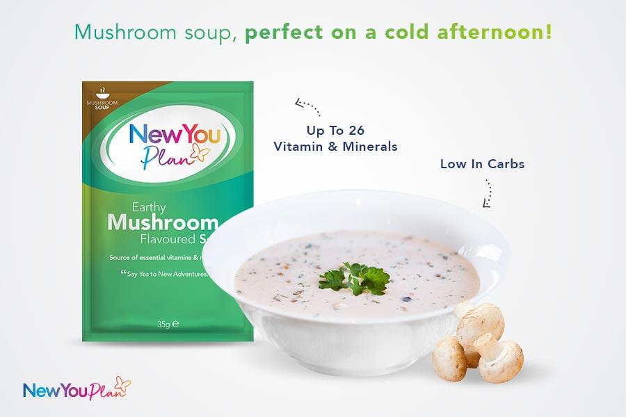 Earthy Mushroom Total Soup