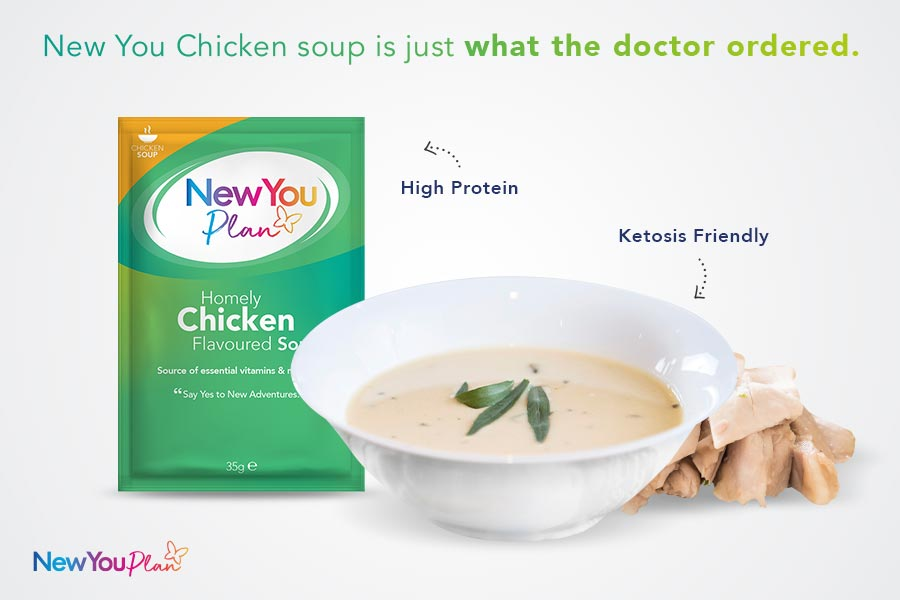 Homely Chicken TFR VLCD Soup