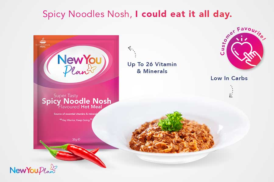 Super Tasty Spicy Noodle Nosh Total Meal (Spicy Spaghetti)