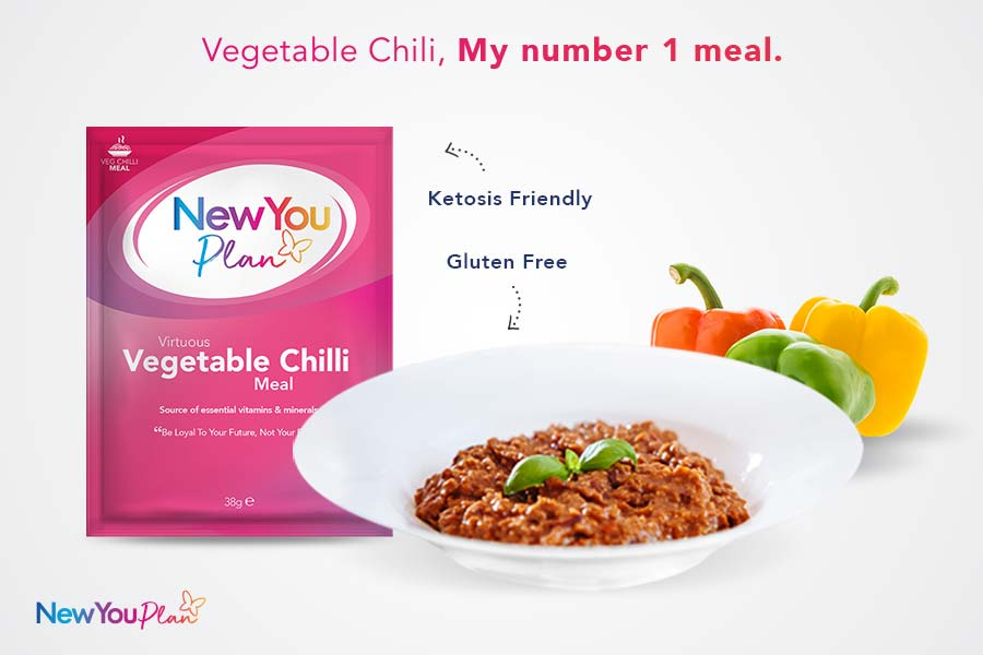 Delicious Vegetable Chili TFR VLCD Meal