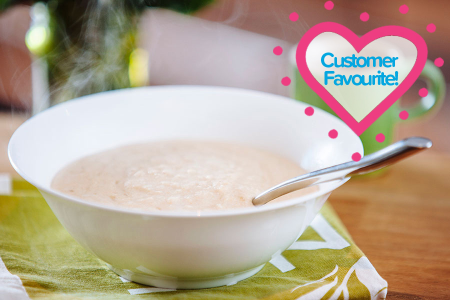 Ahh Just Right Original Oatmeal TFR VLCD Porridge