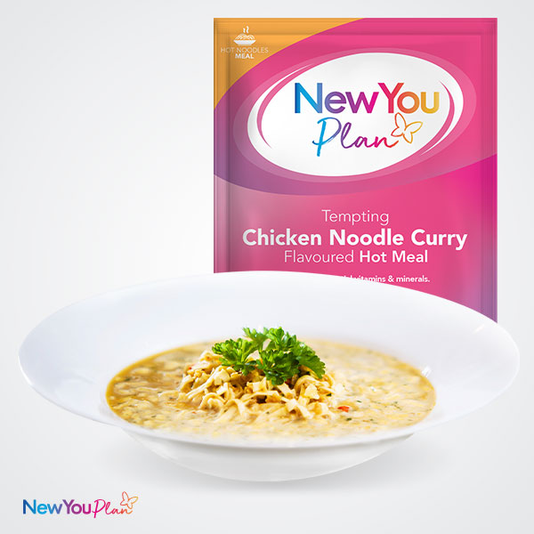 Tempting Chicken Noodle Curry TFR VLCD Meal