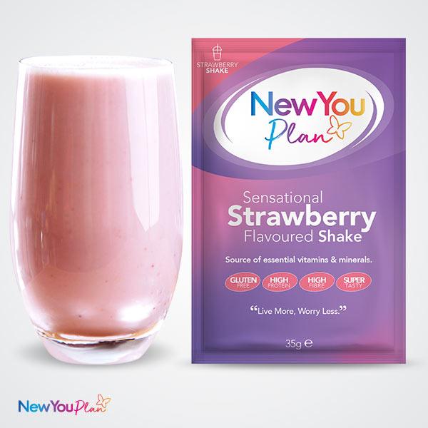 Sensational Strawberry TFR VLCD Shake