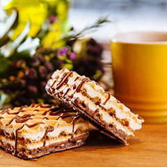 Vanilla Cream High Protein Wafer