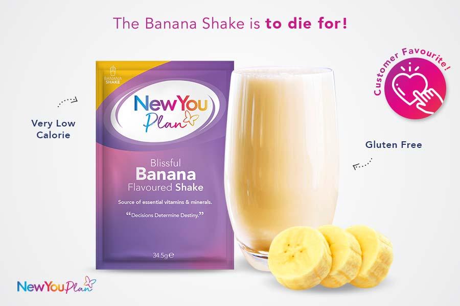 Blissful Banana Total Shake