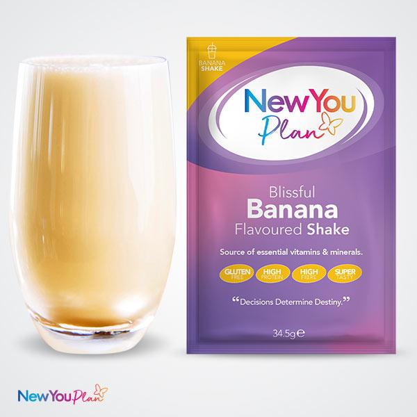 Beautiful Banana TFR VLCD Shake