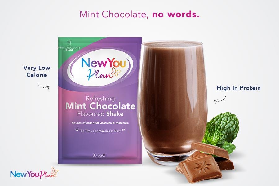Refreshing Mint Chocolate Total Shake