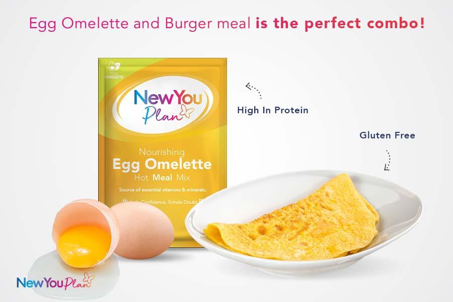 Nourishing Egg Omelette Total Meal