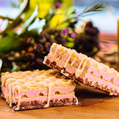 Raspberry High Protein Wafer