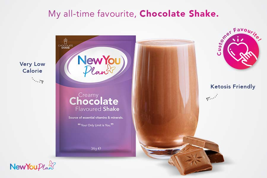 Creamy Chocolate Total Shake